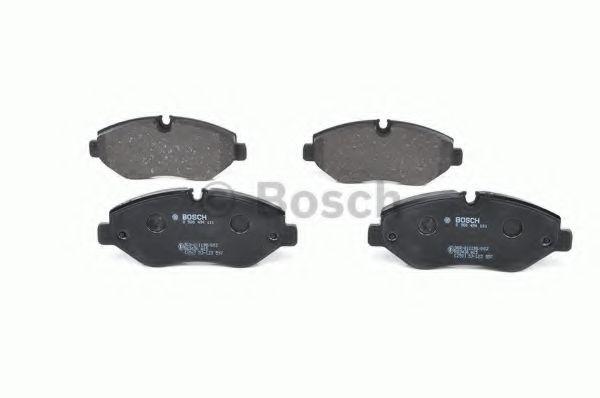 Комплект тормозных колодок, дисковый тормоз BOSCH арт. 0986494121