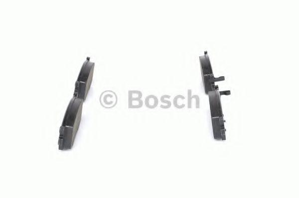 Комплект тормозных колодок, дисковый тормоз BOSCH арт. 0986494139
