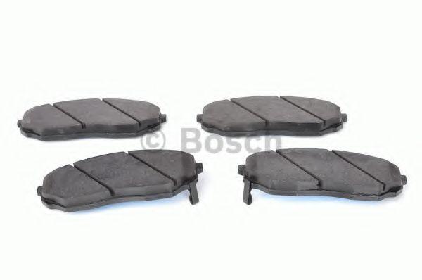 Комплект тормозных колодок, дисковый тормоз BOSCH арт. 0986494143
