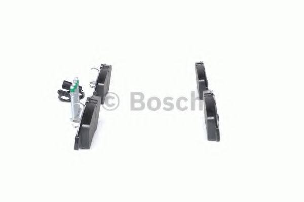Комплект тормозных колодок, дисковый тормоз BOSCH арт. 0986494201