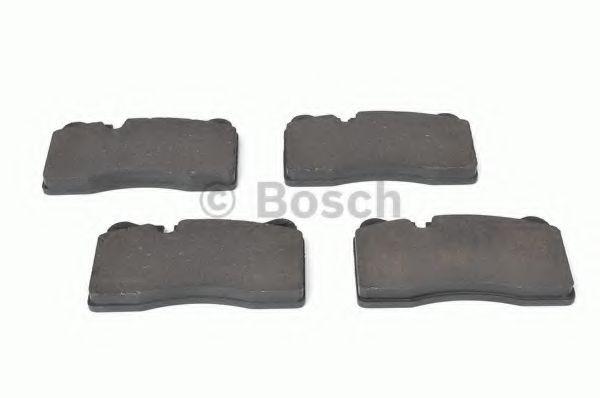 Комплект тормозных колодок, дисковый тормоз BOSCH арт. 0986494207