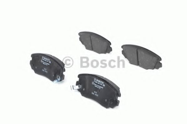 Комплект тормозных колодок, дисковый тормоз BOSCH арт. 0986494279