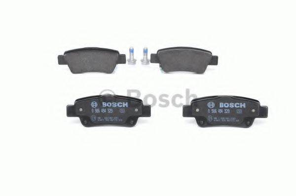 Комплект тормозных колодок, дисковый тормоз BOSCH арт. 0986494329