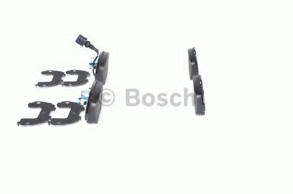 Комплект тормозных колодок, дисковый тормоз BOSCH арт. 0986494372
