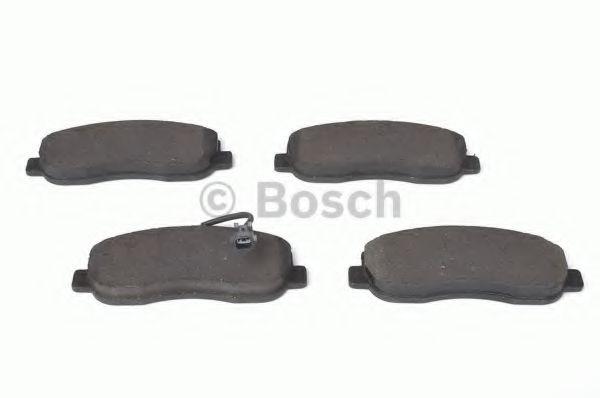 Комплект тормозных колодок, дисковый тормоз BOSCH арт. 0986494498