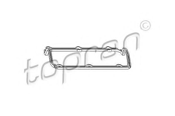 Прокладка, крышка головки цилиндра TOPRAN арт.