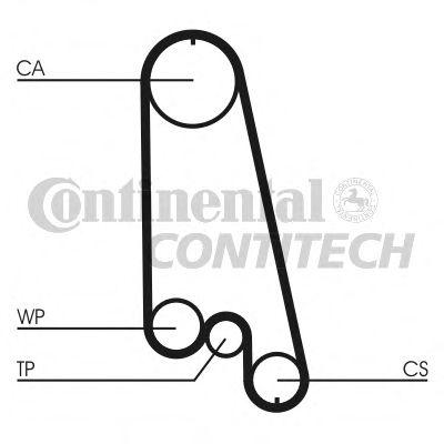 Ремень ГРМ Contitech - CT874