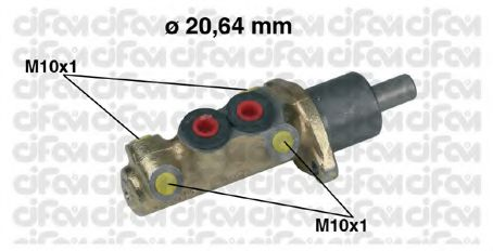 Главный тормозной цилиндр CIFAM арт.