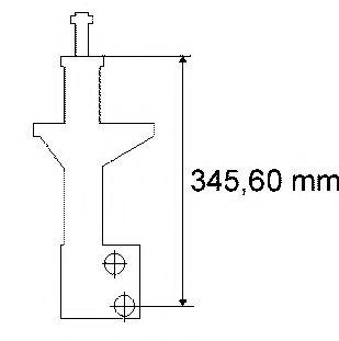 Амортизатор SACHS арт. 170381