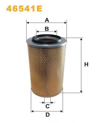 Воздушный фильтр WIXFILTERS арт. 46541E