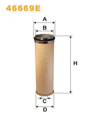 Осушитель воздуха, пневматическая система WIXFILTERS арт. 46669E