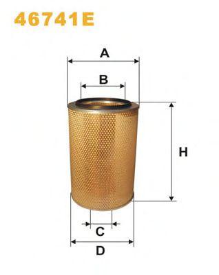 Воздушный фильтр WIXFILTERS арт. 46741E