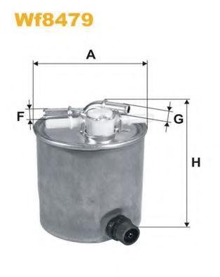 Фильтры топливные Топливный фильтр WIXFILTERS арт. WF8479