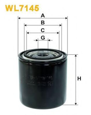 Масляный фильтр WIXFILTERS арт. WL7145