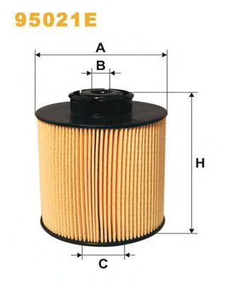 Фильтры топливные Топливный фильтр WIXFILTERS арт. 95021E