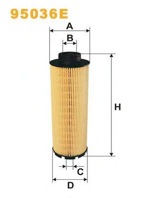 Фильтры топливные Топливный фильтр WIXFILTERS арт. 95036E