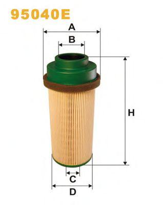 Фильтры топливные Топливный фильтр WIXFILTERS арт. 95040E