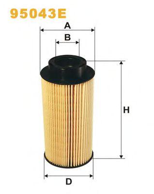 Фильтры топливные Топливный фильтр WIXFILTERS арт. 95043E