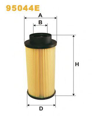 Фильтры топливные Топливный фильтр WIXFILTERS арт. 95044E
