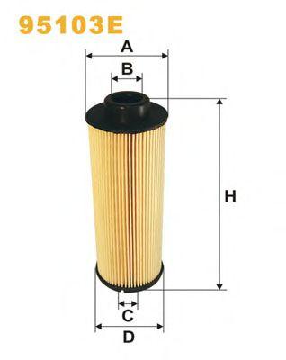 Фильтры топливные Топливный фильтр WIXFILTERS арт. 95103E