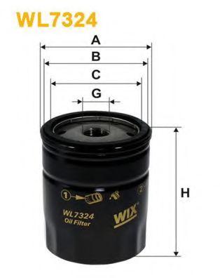 Масляный фильтр WIXFILTERS арт. WL7324