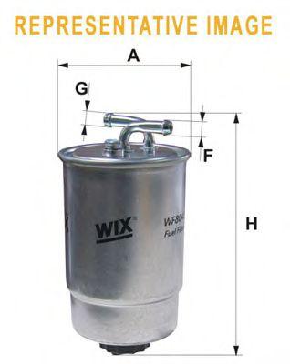 Фильтры топливные Топливный фильтр WIXFILTERS арт. WF8044