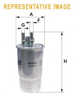 Фильтры топливные Топливный фильтр WIXFILTERS арт. WF8262