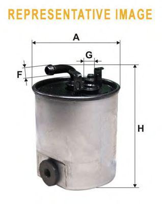 Фильтры топливные Топливный фильтр WIXFILTERS арт. WF8353
