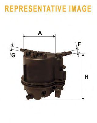 Фильтры топливные Топливный фильтр WIXFILTERS арт. WF8360