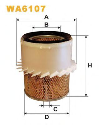 Воздушный фильтр WIXFILTERS арт.