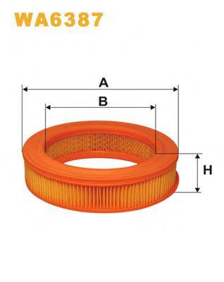 Воздушный фильтр WIXFILTERS арт. WA6387