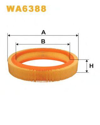 Воздушный фильтр WIXFILTERS арт. WA6388