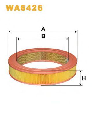 Воздушный фильтр WIXFILTERS арт. WA6426