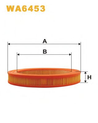 Воздушный фильтр WIXFILTERS арт. WA6453
