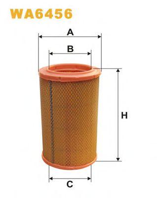Воздушный фильтр WIXFILTERS арт. WA6456