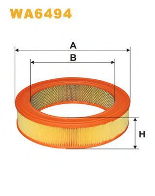 Воздушный фильтр WIXFILTERS арт. WA6494