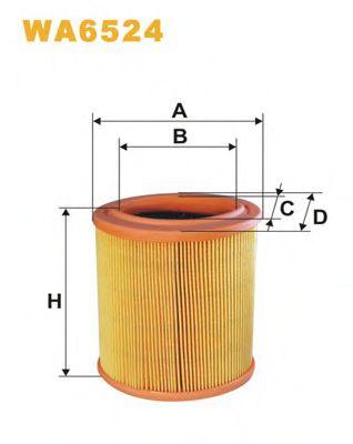Воздушный фильтр WIXFILTERS арт. WA6524