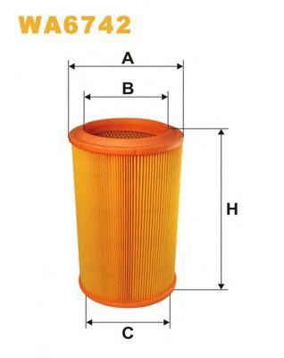 Воздушный фильтр WIXFILTERS арт. WA6742