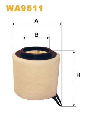 Воздушный фильтр WIXFILTERS арт. WA9511