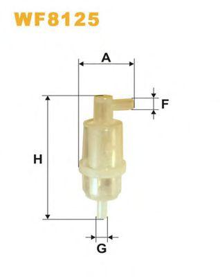 Топливный фильтр WIXFILTERS арт. WF8125