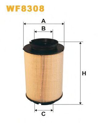 Фильтры топливные Топливный фильтр WIXFILTERS арт. WF8308