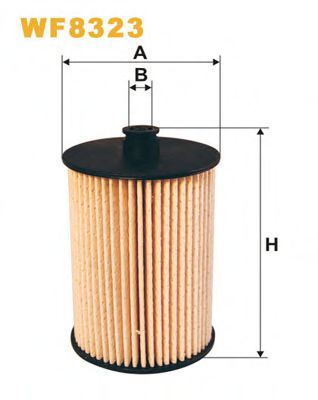 Фильтры топливные Топливный фильтр WIXFILTERS арт.