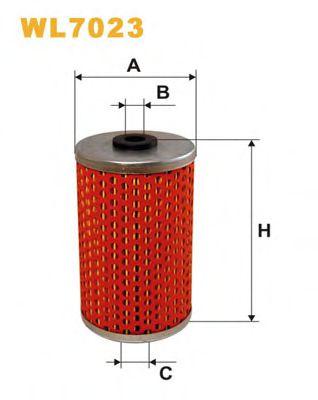 Масляный фильтр WIXFILTERS арт. WL7023