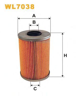 Масляный фильтр WIXFILTERS арт. WL7038