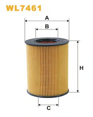 Масляный фильтр WIXFILTERS арт.