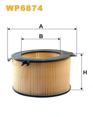 Фильтры прочие Фильтр, воздух во внутренном пространстве WIXFILTERS арт.