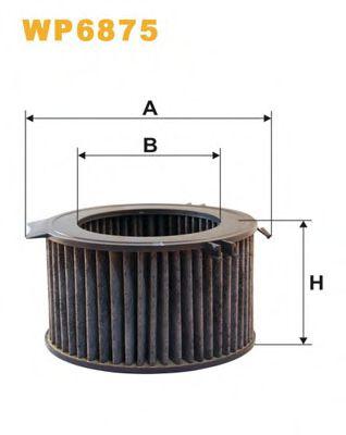 Фильтр, воздух во внутренном пространстве WIXFILTERS арт. WP6875