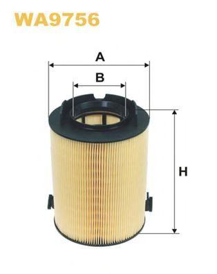 Воздушный фильтр WIXFILTERS арт. WA9756
