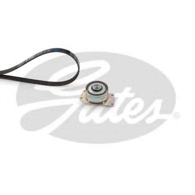 Поликлиновой ременный комплект GATES арт. K016PK1010