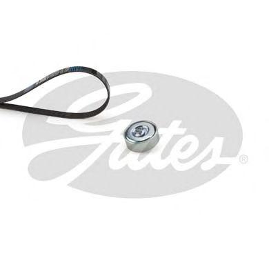 Поликлиновой ременный комплект GATES арт.